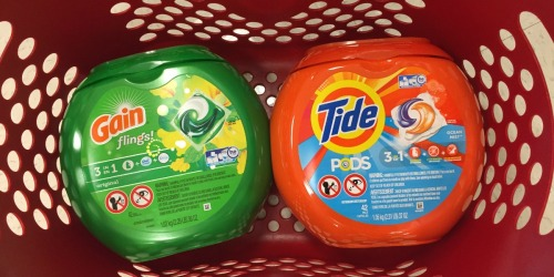 Target: Tide Pods & Gain Flings 42-Count Tubs ONLY $6.49 Each (Reg. $11.99) – After Gift Card