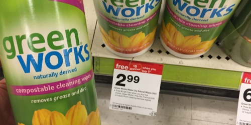 Target Shoppers! Green Works, Pine-Sol & Clorox Cleaning Products Starting at Just $1