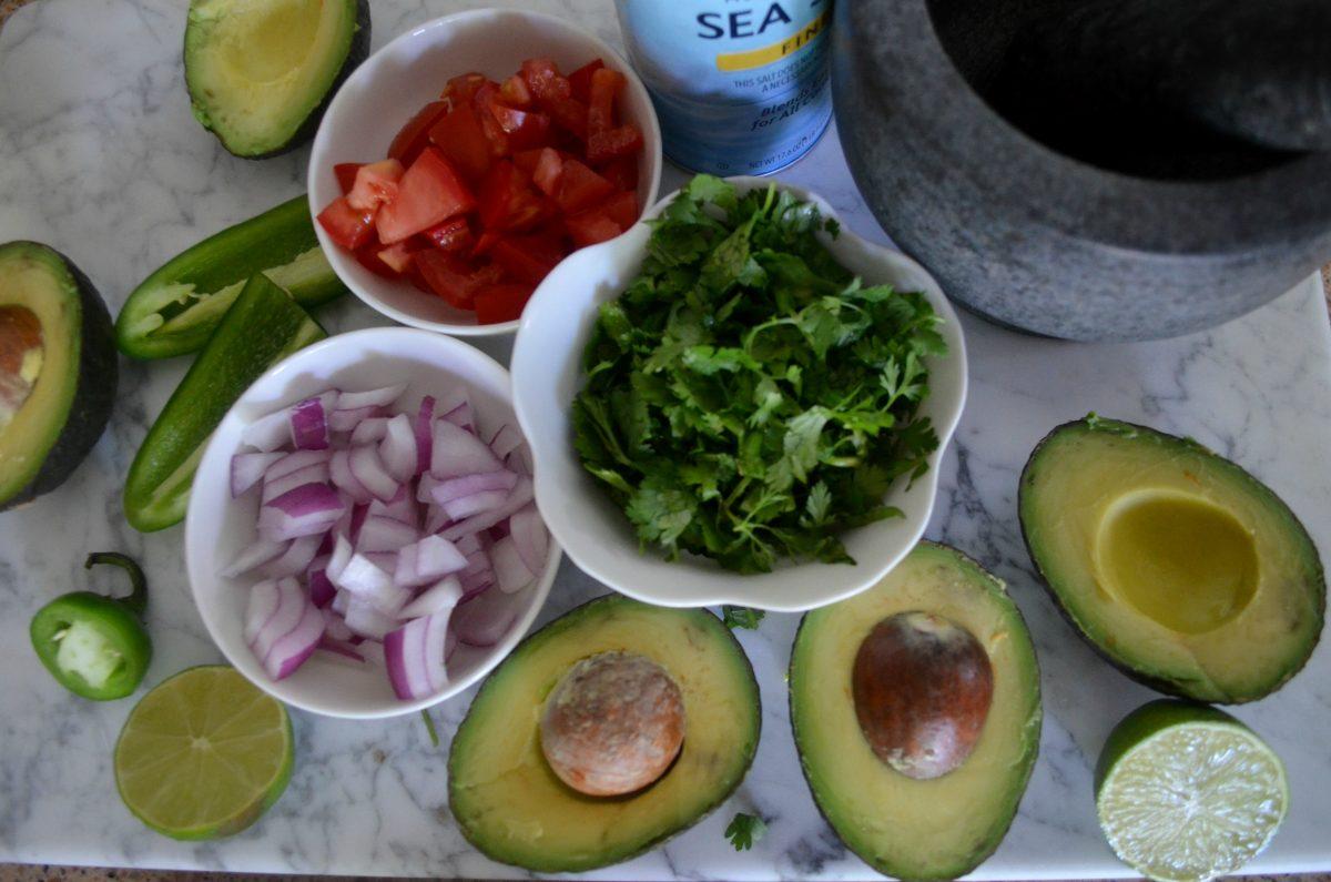 fresh guacamole recipe