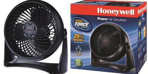 Honeywell Power Air Circulator Table Fan Only $10.25