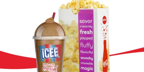 AMC Theatres: ICEE & Popcorn ONLY $5 (Teen Students Only)
