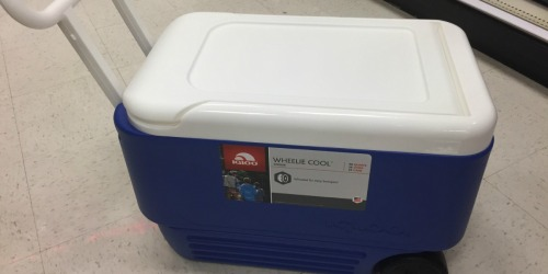 Igloo 38-Quart Wheelie Cooler Only $18.74 at Target (Regularly $25)