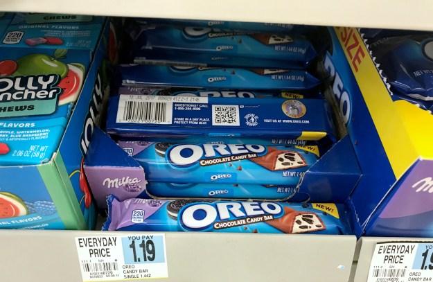 Rite Aid Oreo Milka Candy Bar