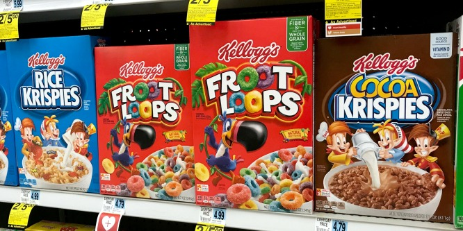 Rite Aid Kellogg's Cereal