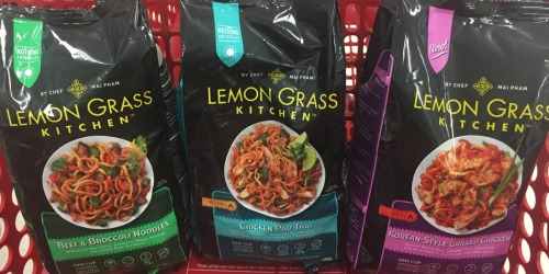 Target: 50% Off InnovAsian Lemon Grass Kitchen Meals (No Coupons Needed)