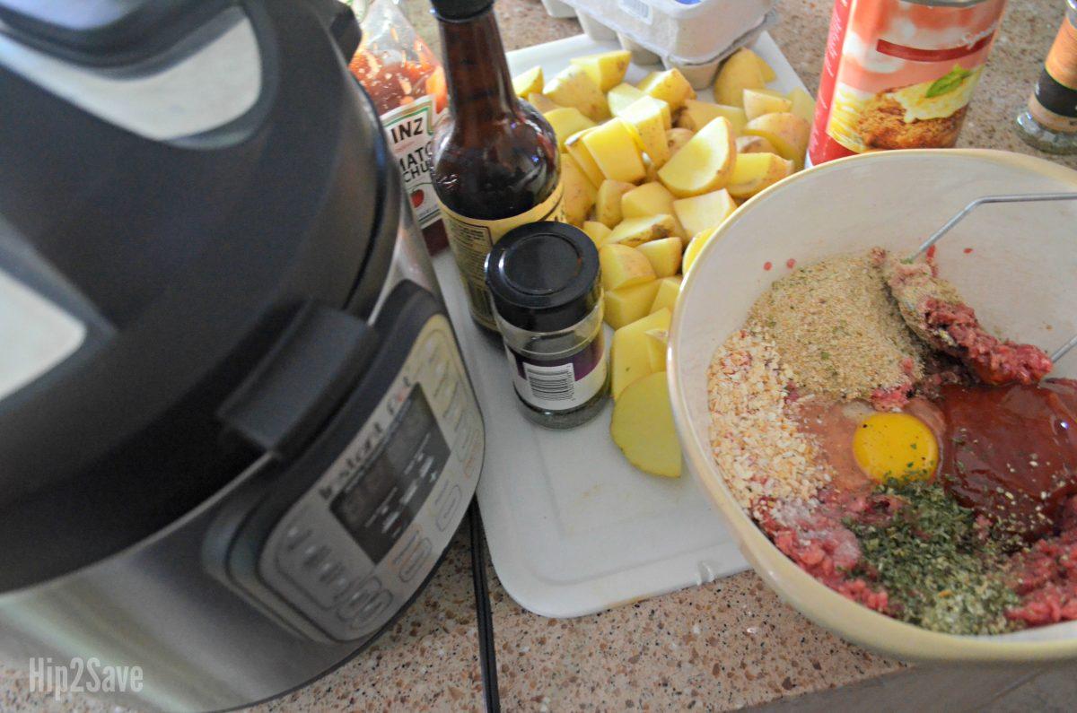 making meatloaf instant pot recipe