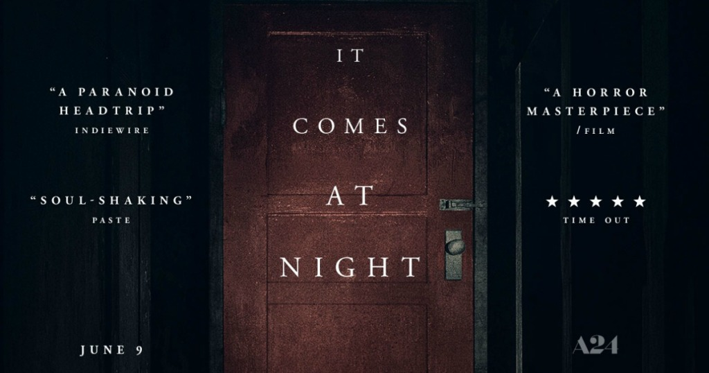 Atom Tickets App: 'It Comes at Night' Movie Ticket ONLY $5