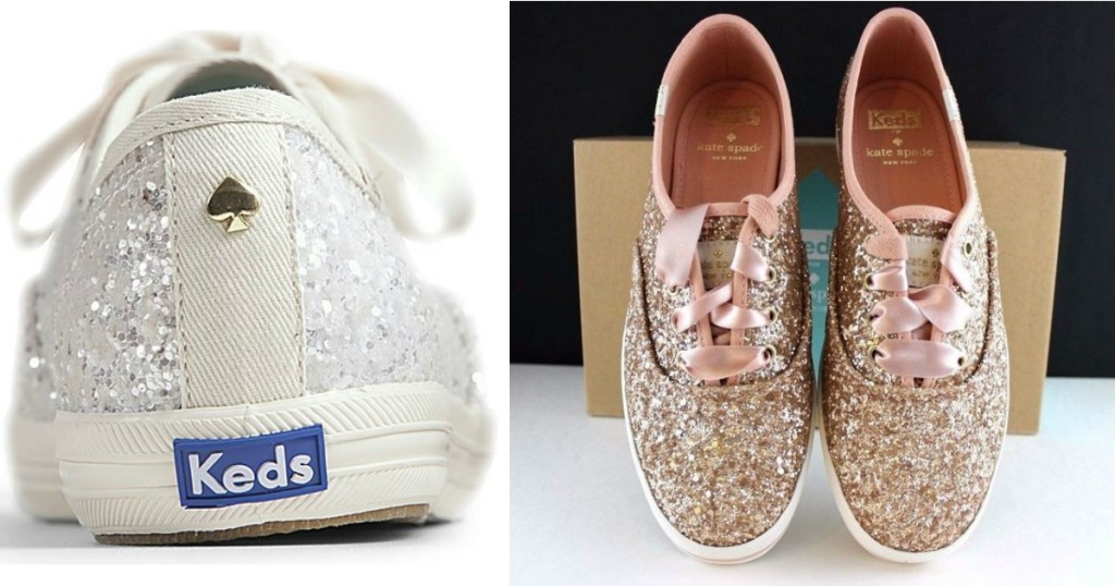 fd48a7694d6d KEDS Kate Spade Glitter Shoes Only  55.96 Shipped (Regularly  85) – FUN For  Brides