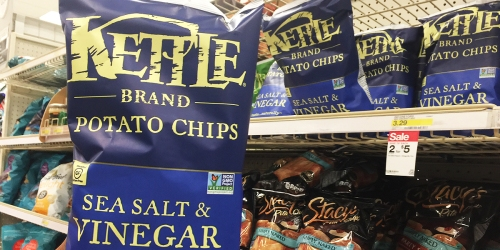 New $1/2 Kettle Chips Coupon = Just $2 Per Bag At Target (Regularly $3.29)