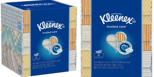 Target.com: Kleenex Tissues 6-Packs $6.79 (Just $1.13 Per 160-Count Box)