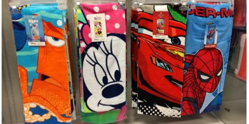 Kohl's: New $10 Off $30 Coupon + Extra 15% Off = Disney Beach Towels ONLY $5.67 Each + More