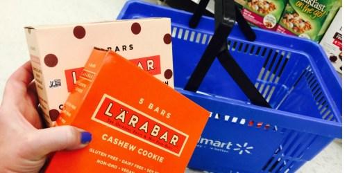 Walmart: LÄRABAR 5-Count Gluten Free Bars Only $3.43 (Just 69¢ Per Bar)