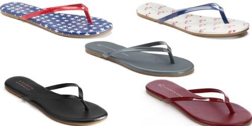 Kohl's Cardholders: Lauren Conrad Flip Flops Only $7 Shipped (Reg. $20) + Save on Kid's Sandals