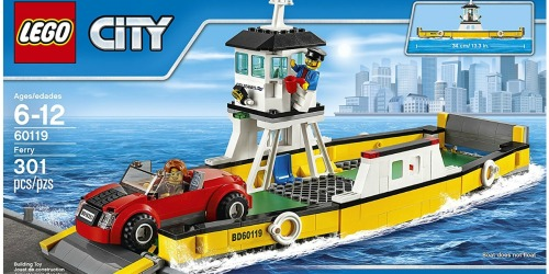 LEGO City Great Vehicles Ferry Set ONLY $14.24 (Regularly $29.99)