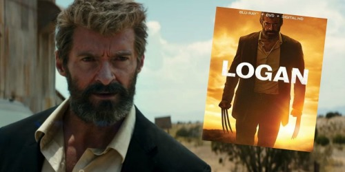 Logan Blu-ray & DVD Combo Pack Only $11.99 (Regularly $24.99)