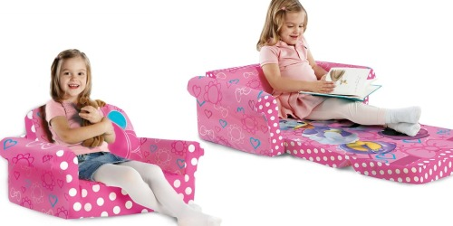 Amazon: Minnie Mouse 2-in-1 Flip Open Toddler Sofa ONLY $29.99 Shipped (Great Reviews)