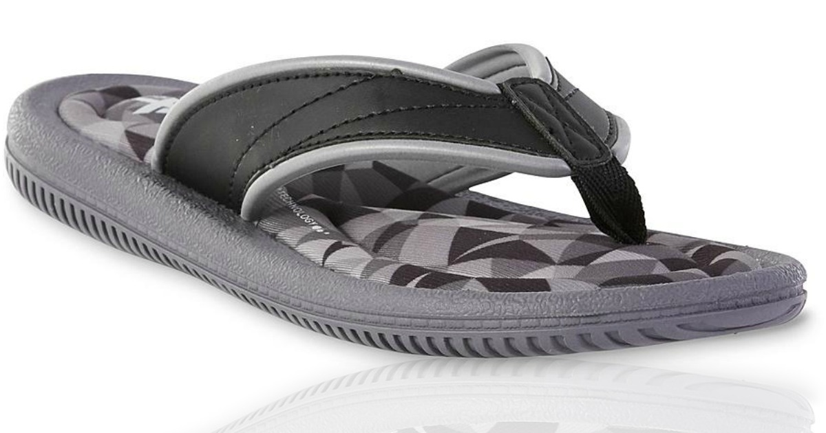 f755fb23cb3 Kmart  Sandals Buy 1 Get 1 for  1   Women s Memory Foam Sandals Only  5.50  - Hip2Save