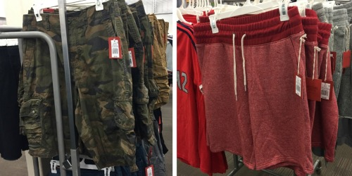 Target Shoppers! Save 30% Off Men's Shorts (In-store AND Online)