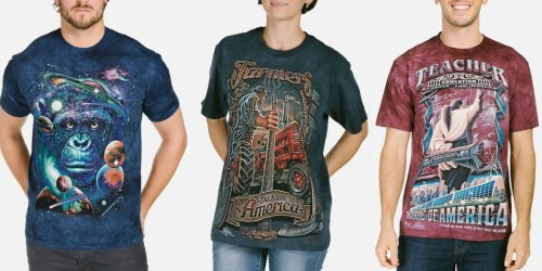 Graphic Tees for the Family from $7.68, Hats Only $2.99 on TheMountain.com
