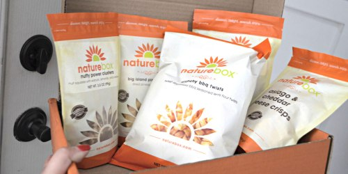 NatureBox: $15 Off $20 Order = 9 Yummy Snacks Just $12.48 Delivered (New Customers)