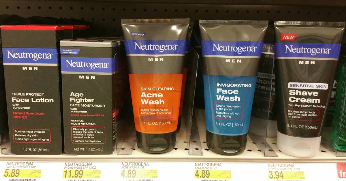 Hot 3 1 Neutrogena Product Coupon Men S Shave Cream Just 94 At Target More Hip2save