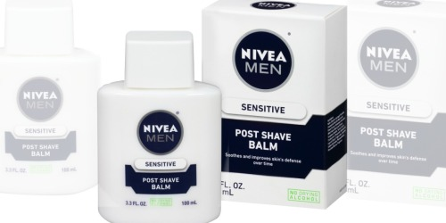 Amazon: Nivea Men's Sensitive Post Shave Balm 3-Pack Only $11.63 Shipped (Just $3.87 Each)