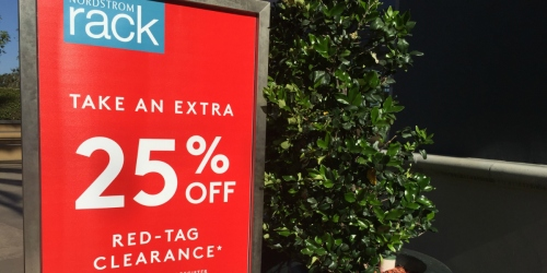 Nordstrom Rack: Extra 25% Off Clear The Rack Sale (Save on Vera Bradley, The North Face & More)
