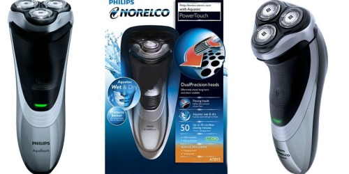 Kohl's Cardholders: Norelco Wet & Dry Razor $31.99 Shipped After Rebate (Regularly $119)