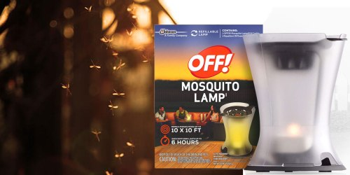 Two New $2/1 Off! Mosquito Repellent Coupons = Refillable Lamp Just $6.49 At Walgreens