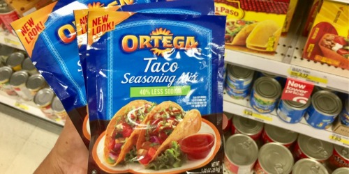 Target: Ortega Taco Seasoning ONLY 17¢, Taco Shells ONLY 72¢ + More