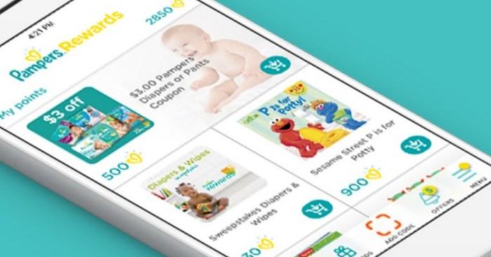 Pampers Rewards Members: 100 FREE Bonus Points (Just Download New App)