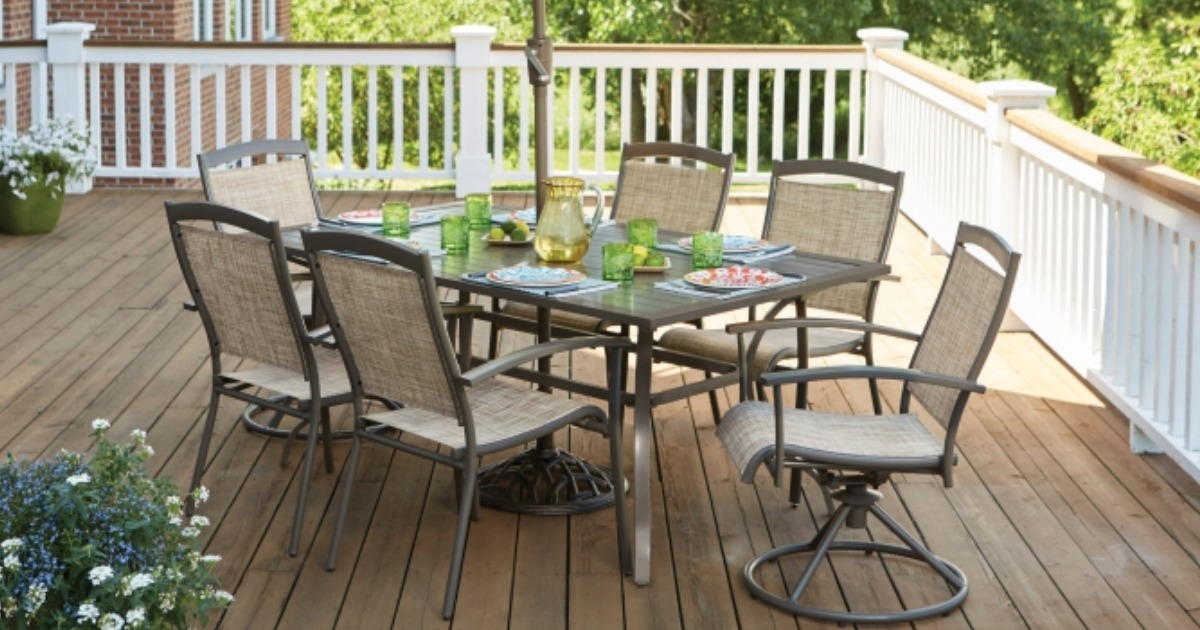 Ace Hardware: Living Accents 7-Piece Outdoor Dining Set ... on Ace Outdoor Living id=47994