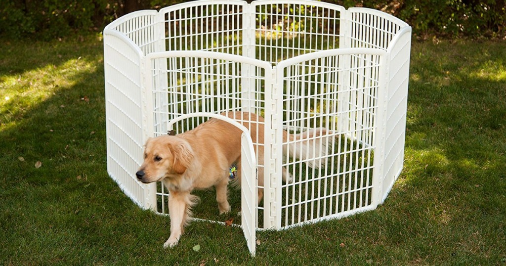 highly rated iris 34 indoor outdoor pet playpen with door only shipped regularly 129