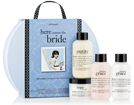 I Also Spotted This Philosophy Here Comes The Bride Set For Only 16 Shipped Regularly 32 Includes Purity Made Simple One Step Facial Cleanser