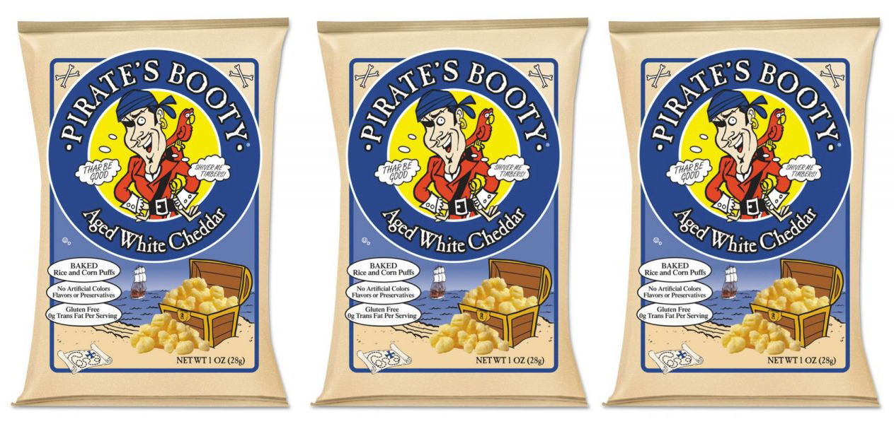 pirates booty aged white cheddar puffs product display