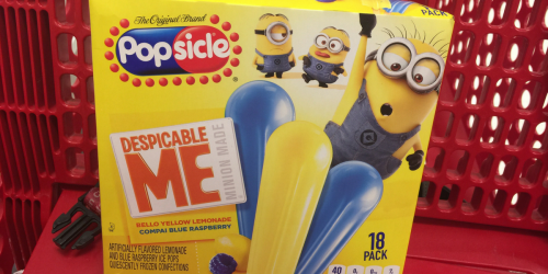 Print This Coupon NOW to Save $1.50/1 Minions or Spiderman Character Popsicles