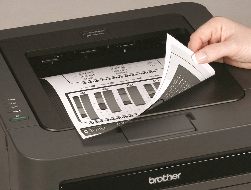 10 ways to save big on printer ink and toner – a printed grayscale document
