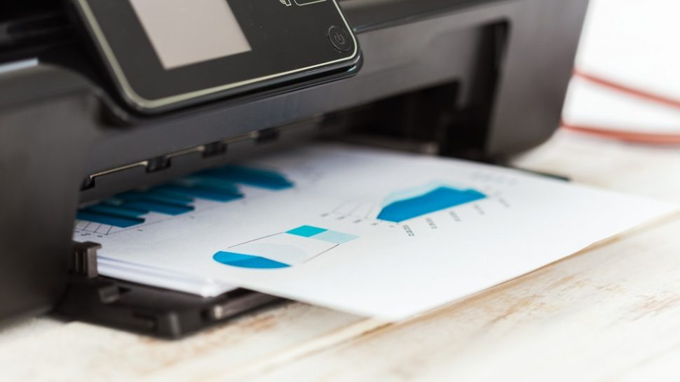 10 ways to save big on printer ink and toner – Closeup of a document