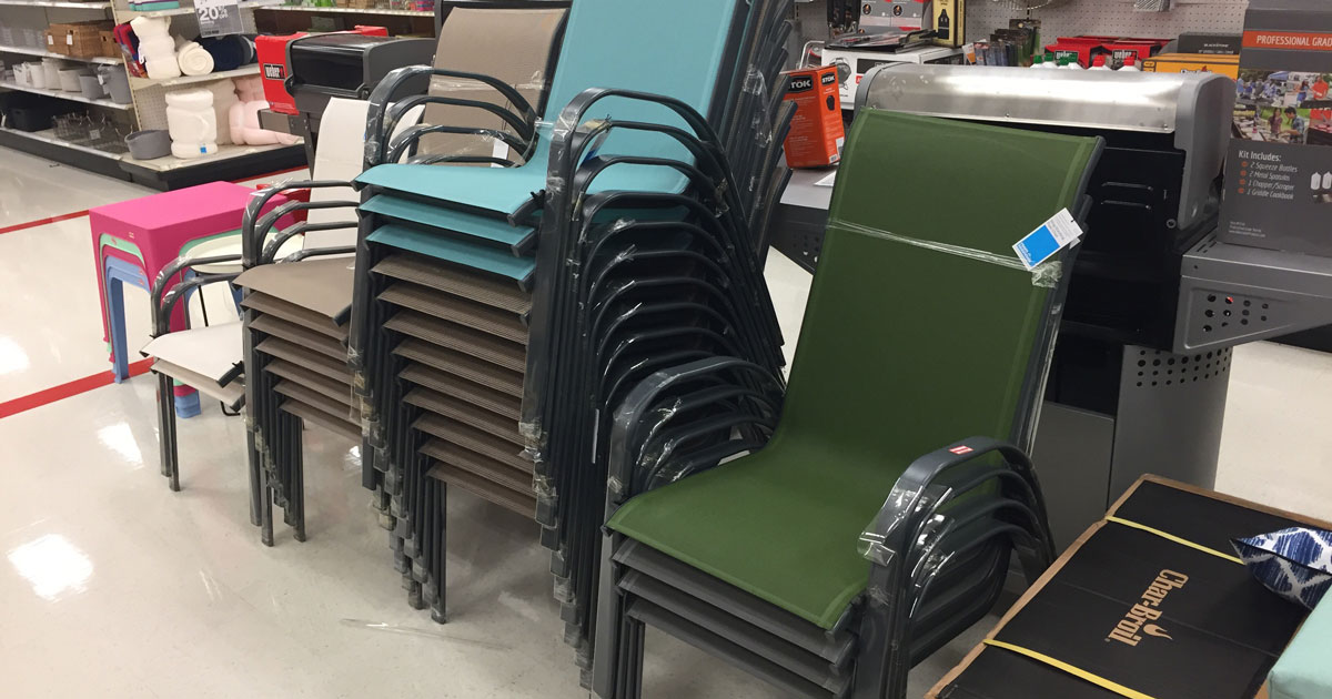 Target Patio Clearance 50 Off Sling Chairs And Outdoor