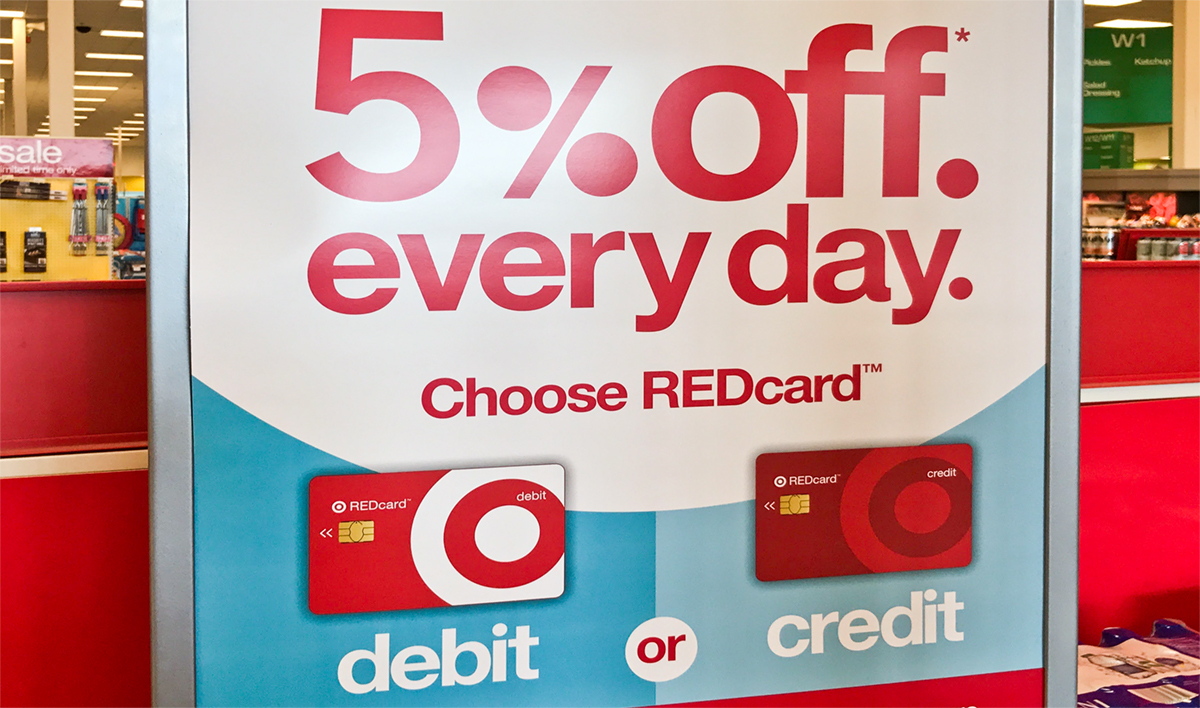 redcard sign in Target