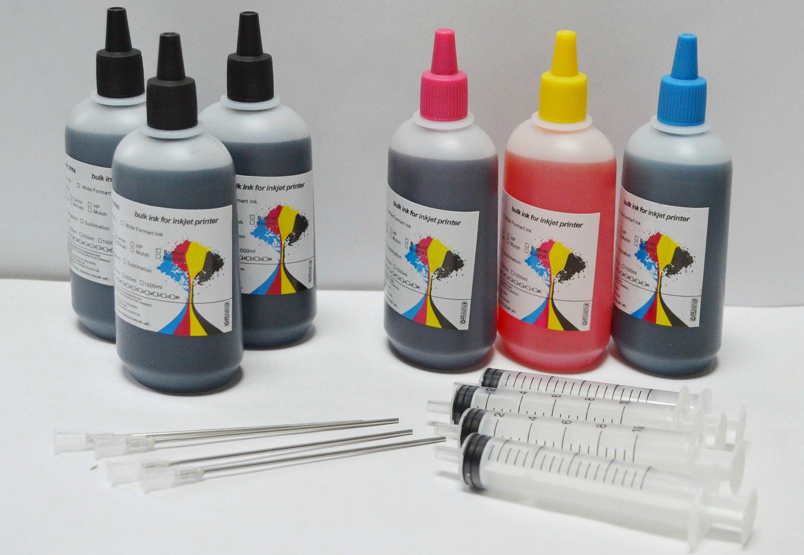 10 ways to save big on printer ink and toner – Refill your own ink bottles and syringes