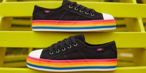 Rocket Dog: 40% Off Sale Items = Rainbow Sneakers Just $22.74 Shipped (Regularly $50) + More