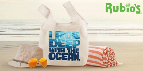 Rubio's: Free Reusable Tote Bag (June 8th Only)
