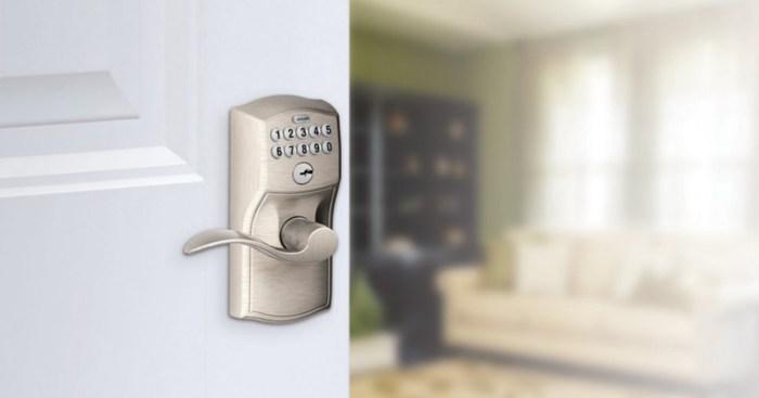 Amazon Schlage Keypad Door Lock Only 69 85 Shipped