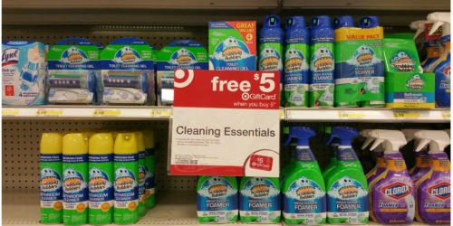 Target: Scrubbing Bubbles & Windex Products Only $1.11 Each After Gift Card (Starting 6/11)