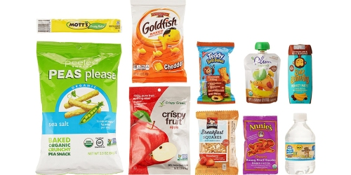 Amazon Prime: Children's Snacks Sample Box $4.99 Shipped + Get $4.99 Credit (+ More Sample Offers)