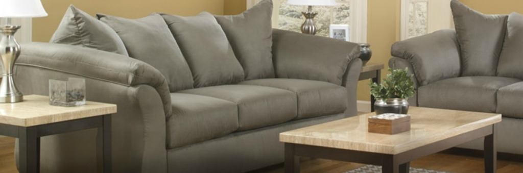 Dont Sit On This Deal Ashley Sofa And Loveseat Only 574 Delivered