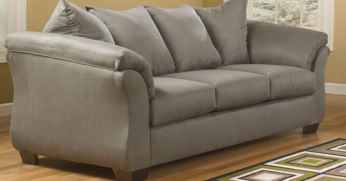 JCPenney Ashley Signature Sofa ly $349 Delivered Regularly $1 000 & More Hip2Save