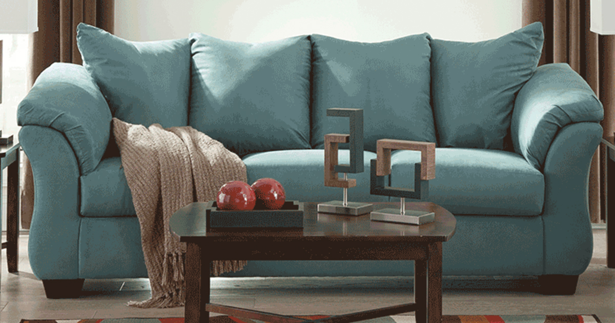Say Goodbye To Your Old Ratty Sofa! Score This Ashley Sofa ...
