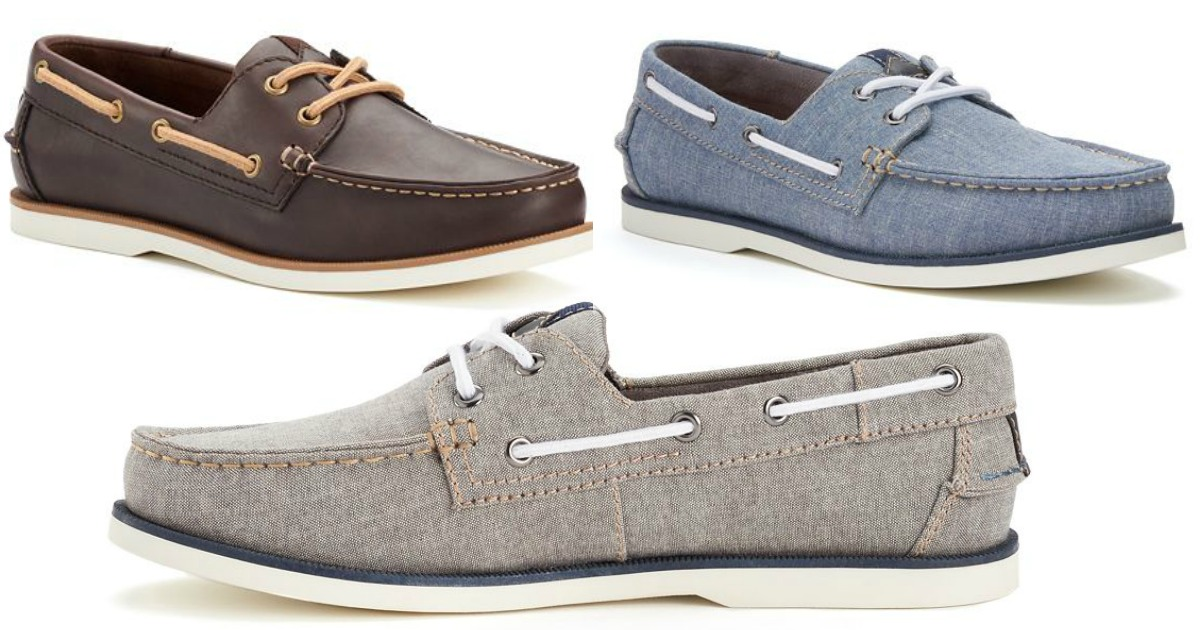 Sonoma Men's Boat Shoes Only $27.99